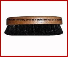 Black 100% Oval Shape Horse Hair ~ Western Hat or Fedora ~ Lint Remover Brush