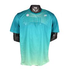 Nike Sportswear Dri Fit Men's Training Top 823325-351 Aqua Green Silver New NWT