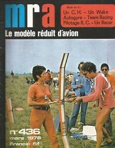 MRA LE MODÈLE RÉDUIT D'AVION N° 436