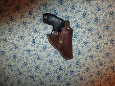 WESTERN COWBOY LEATHER HOLSTER FOR TAURUS 22, 9 SHOT REVOLVER