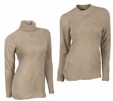 Marks and Spencer Women's No Pattern Polo Neck Jumpers & Cardigans