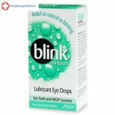Blink Contacts Lubricating Eye Drop 10ML for soft and RGP Lenses