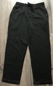 Men's Fruit Of The Loom Sleepwear Bottoms Knit W/Pockets  M (32-34) - Black
