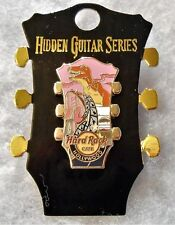 HARD ROCK CAFE HOLLYWOOD 2018 LIMITED EDITION HIDDEN GUITAR SERIES PIN # 100168