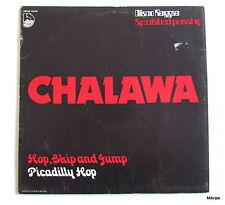 """12"""" Maxi:Chalawa-Hop,skip and jump  **Belgien Rotes Vinyl"""