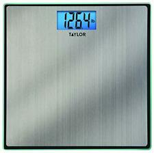 Taylor Precision Products 74074102 Digital Stainless Steel Bathroom Scale