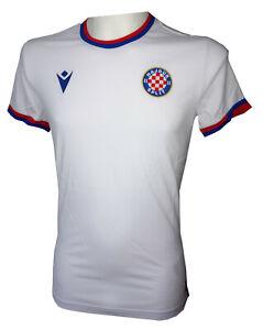 Macron Hajduk Split Cotton Travel T-Shirt, weiss/rot/blau, 58118052, Gr. M-4XL