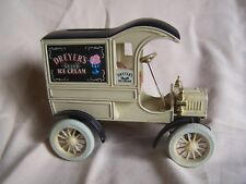 The Ertl Co. Ford 1905 First Delivery truck Dreyer's Ice Cream metal bank car
