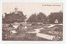 Shrewsbury,U.K.In the Dingle,Shropshire,West Midlands,Used,Shrewsbury,1910