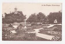 Shrewsbury,U.K.In the Dingle,Shropshire,West Midlands,Used,Shrewsbury,1910
