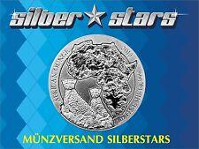 1 OZ  Unze Silber Ruanda Gepard  Cheetah 2013 in Originalfolie