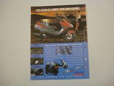 advertising Pubblicità 1996 YAMAHA MAJESTY YP 250