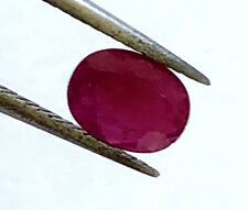 1.07 Ct NATURAL RED RUBY LOOSE GEMSTONE FOR JEWELRY DESIGN JULY BIRTHSTONE