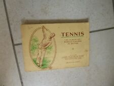 VINTAGE JOHN PLAYER & SONS Cigarette Cards/Album Famous Tennis Players in Action