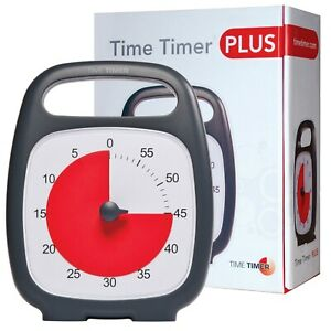 Time Timer Plus 60 minute Great for Austism and Time Management