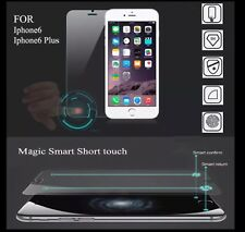 Smart Touch Tempered Glass Protector With back & Menu Button For IPhone 6 Plus