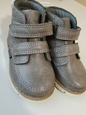 OshKosh B'gosh Baby Toddler Boys Boots ~ Size 5 ~ Gray~ Velcro
