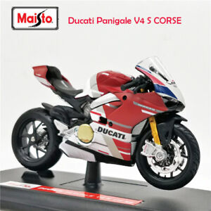 Maisto 1:18 Ducati Panigale V4 S CORSE Diecast Model Motorcycle Toy Racing Bike