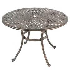 Ellister Regency 105cm Cast Aluminium Round Table