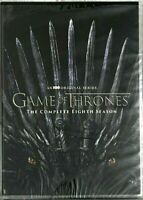 Game of Thrones: Complete Season 8 [DVD2019 4-Disc] New & Sealed, Fast Shipping.