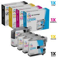 LD For Brother LC103 4pk Ink LC103BK LC103C LC103M LC103Y MFC J245 J285DW