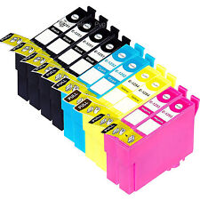 New ! 10PK Ink Cartridge For Epson Stylus NX230 125 130 625 Printer TO125 125