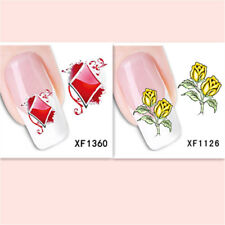 2Sheet/New Fashion Trend Beautifully Beautiful Diy Nail Stickers Xf1360+1126