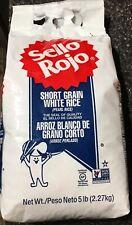 Arroz Sello Rojo Short Grain (pearl Rice) 5 LB Product Of Spain 🇪🇸 🇪🇸🇪🇸