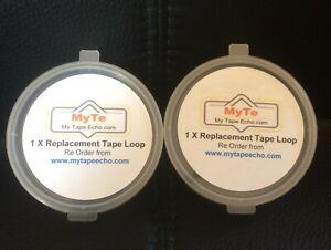 2 X Roland Space Echo (RTL-1) Tape Echo Loops RE 201,RE 101,RE 501,RE301 SRE 555