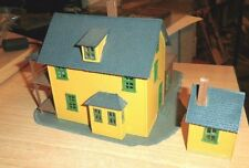 MODEL POWER BACHMANN  - HO - FARM HOUSE  WITH OUTHOUSE / SHED