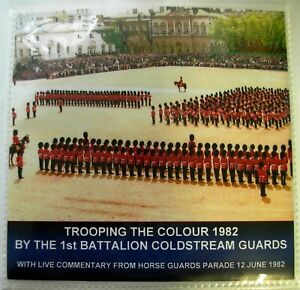 DOUBLE CD TROOPING THE COLOUR 1982 - 1ST BATTALION COLDSTREAM GUARDS