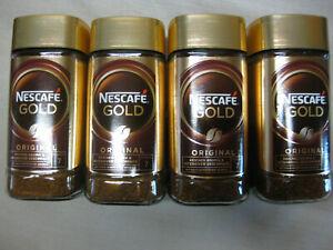4 x NESCAFE GOLD ORIGINAL je 200g haltbar bis März 2023