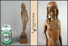 lovely handcarved nude girl woman from germany 1920