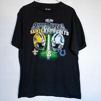 New Orleans Super Bowl XLIV CHAMPIONSHIP Saints vs Colts NFL Graphic T Shirt