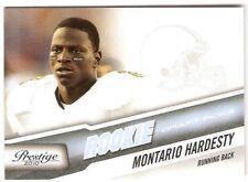 MONTARIO HARDESTY ROOKIE 2010 PRESTIGE 273 SERIAL #/999 TENN VOLUNTEERS BROWNS