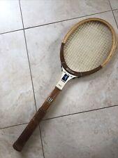 """VINTAGE WILSON CHRIS EVERT Autograph Speed Flex Wooden Tennis Racquet 4 1/2"""""""