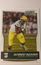 NFL Trading Card DeForest Buckner San Francisco 49ers Draft Score 2016 Panini
