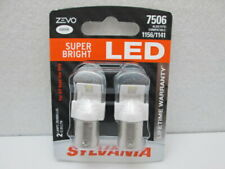 *NEW*Sylvania ZEVO Super Bright LED 7506LED.BP2 - 2 Turn Signal Bulbs 1156 1141