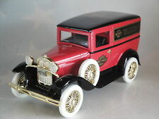 1931 FORD HOT ROD HARLEY DAVIDSON 1/25 SCALE SPECAST  LIBERTY CLASSICS DIECAST