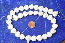 Perlen SWZP-Strang-(Herzform, 14x4mm, weiß) I-0010/I