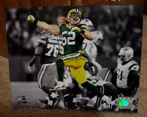 Autographed Clay Matthews Green Bay Packers Signed  8x10 Photo