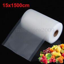 "6"" x 50' Rolls Vacuum Sealer Bags Reusable Storage Bag Food Saver 15 x 1500CM"
