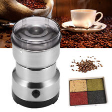 220V Electric Coffee Grinder Grinding Milling Bean Nut Spice Matte Blender New