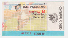54242 Biglietto stadio - Palermo Parma - 1990/1991