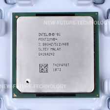 SL7EY - Intel Pentium 4 2.8 GHz 512/400 MHz Socket 478/N CPU US free shipping