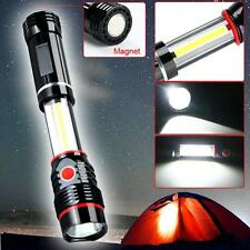 COB LED Magnetic Work Light Inspection Flashlight 300LM Lamp Torch Camping New