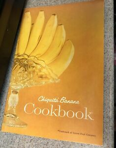Vintage Banana Recipe Cookbook 1959 Chiquita