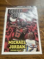 1997-98 Hoops #220 Michael Jordan Chicago Bulls NMMT NBA HOF Basketball Card
