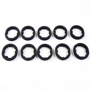 10Pcs Engine Oil Cooler Seal Lower 1121840361 For Mercedes-Benz E280 ML500 G500