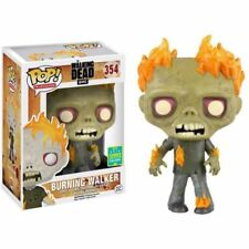 Funko pop vinyl figure BNIB #354 TWD Burning Zombie SDCC 2016 exc Walking Dead